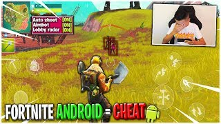 JE TEST LE AIMBOT FORTNITE ANDROID ! FORTNITE MOBILE = CHEAT ! - Daniel Wasa