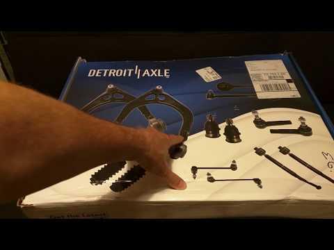"""Review - """"Detroit Axle"""" Front Suspension Kit"""