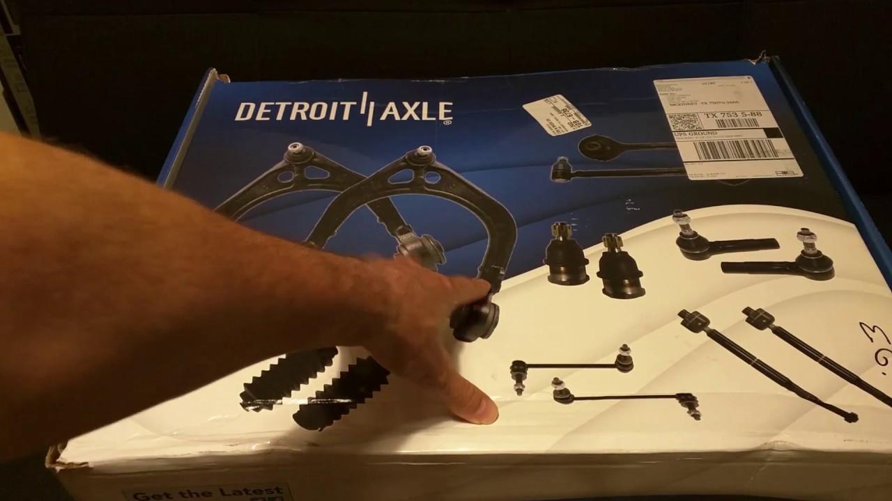 Review Detroit Axle Front Suspension Kit