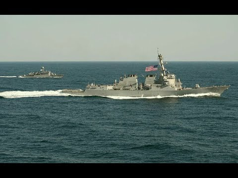 US warships enter the South China Sea without permission- Beijing protests