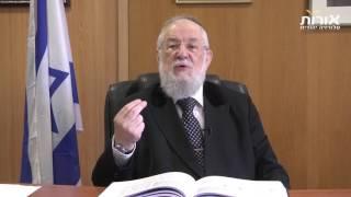 ערוץ אורות - הרב ישראל מאיר לאו - פרשת מטות: המילה שלך קדושה!