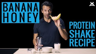 BANANA & HONEY SHAKE | PROMiXX Kitchen (Recipe) [2018]