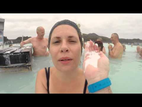 GOOPY WHITE STUFF at Blue Lagoon Geothermal Spa - Iceland - Leonard Does Europe #3