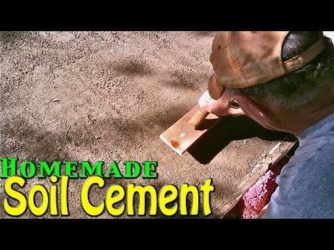 Soil cement simple cheap home application homemade for Cheapest way to build your own home