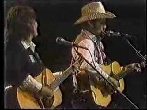 Robin and Linda Williams - Philadelphia Folk Festival 1981