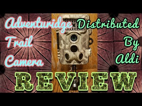Review of Adventuridge Trail Camera distributed by Aldi