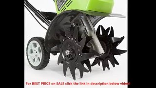 GreenWorks 27062 G-MAX 40V BEST PRICE on SALE Li-Ion Cordless Cultivator | GreenWorks 27062A Reviews