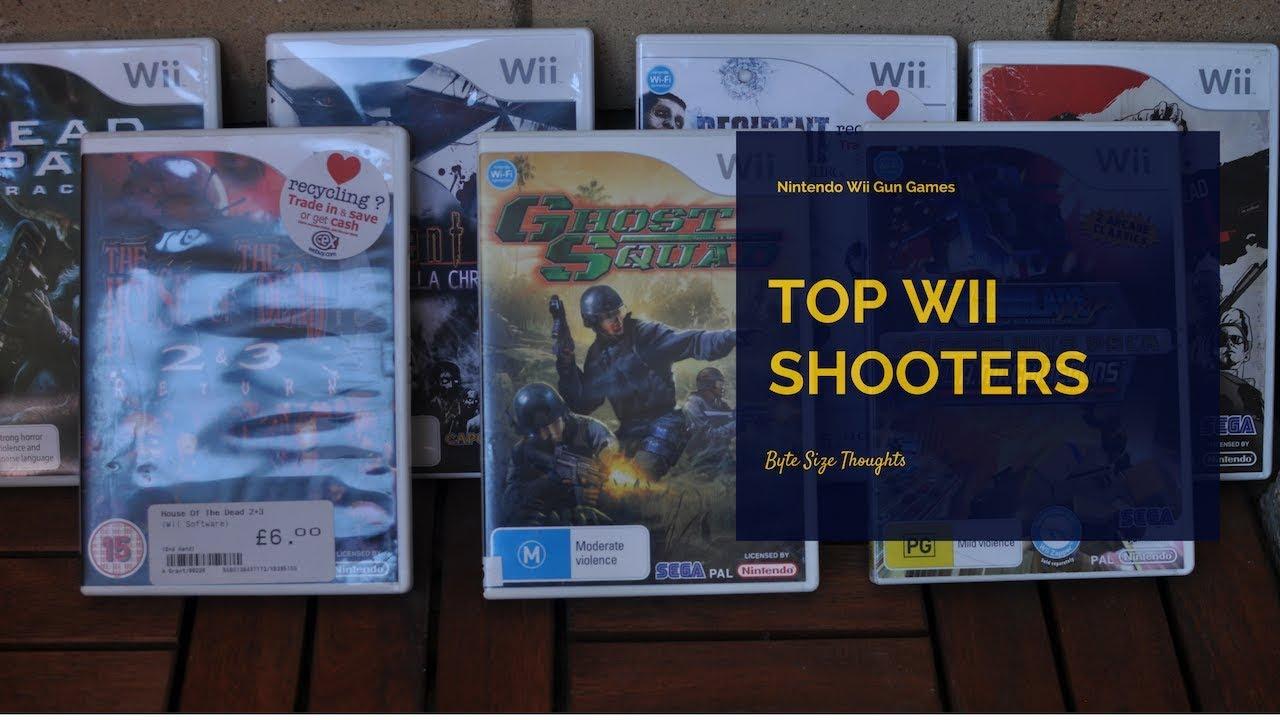 Top Nintendo Wii Light Gun Games!! (On rail shooters)