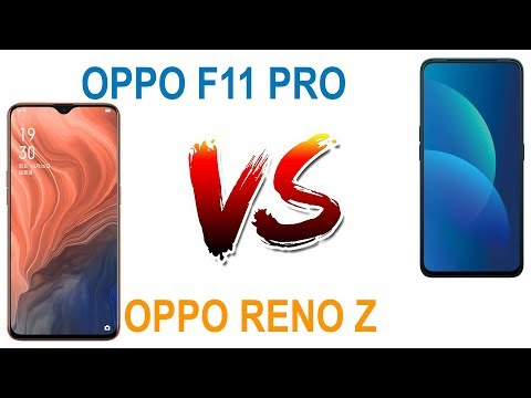OPPO F11 PRO vs OPPO Reno Z Full Spec Compare Review & Price