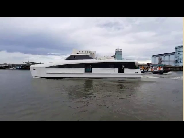 200​ PAX​ ELECTRIC​ PROPULSION CATAMARAN