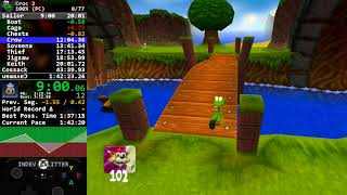 Croc 2 - 100% Speedrun [1:39:16] [World Record]