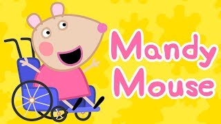 Peppa Pig English Episodes | Meet Mandy Mouse Now! #1 | Peppa Pig