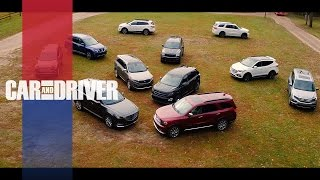 Car and Driver 2017 - 10Best Trucks and SUVs Preview