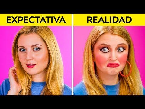 EXPECTATIVA VS. REALIDAD || Situaciones para identificarse por 123 GO! Spanish