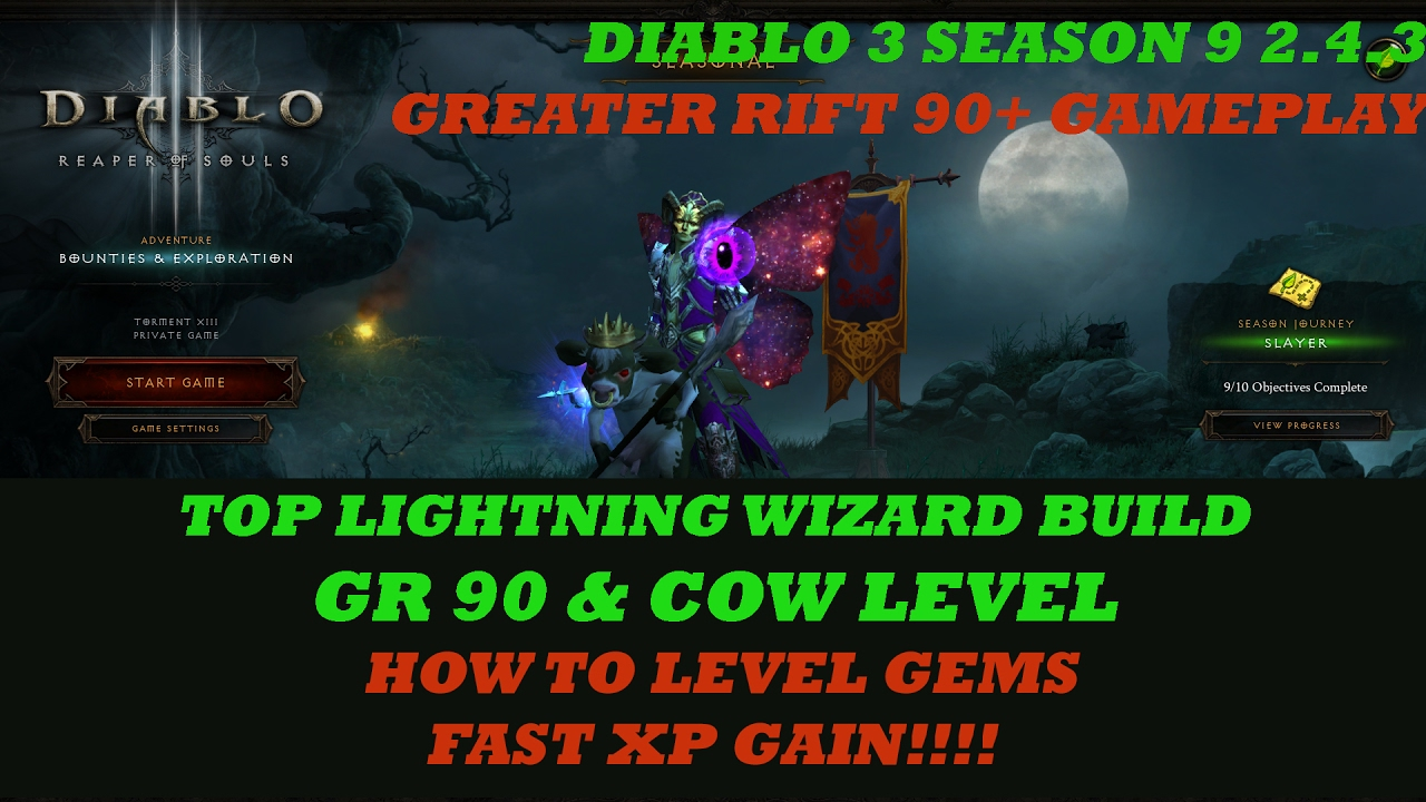 Diablo  Season  Wizard Build