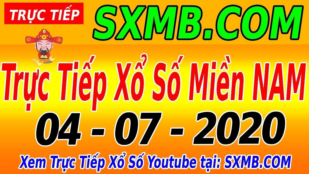 XSMN TRỰC TIẾP XỔ SỐ MIỀN NAM HÔM NAY THỨ 7 NGÀY 04/07/2020, KQXS MIEN NAM