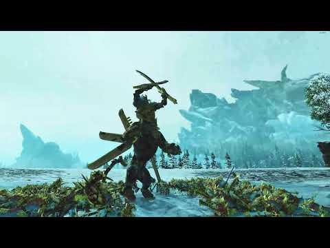 Temple Guards VS Necrosphinx | Total War: Warhammer 2