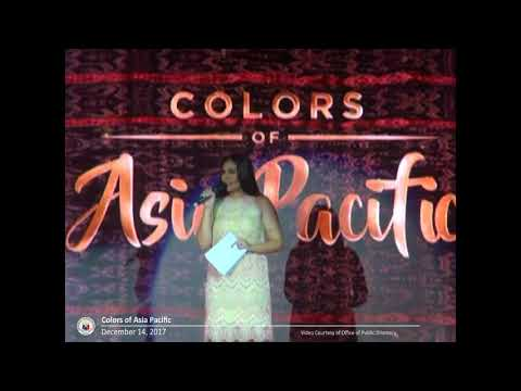 Colors of Asia Pacific