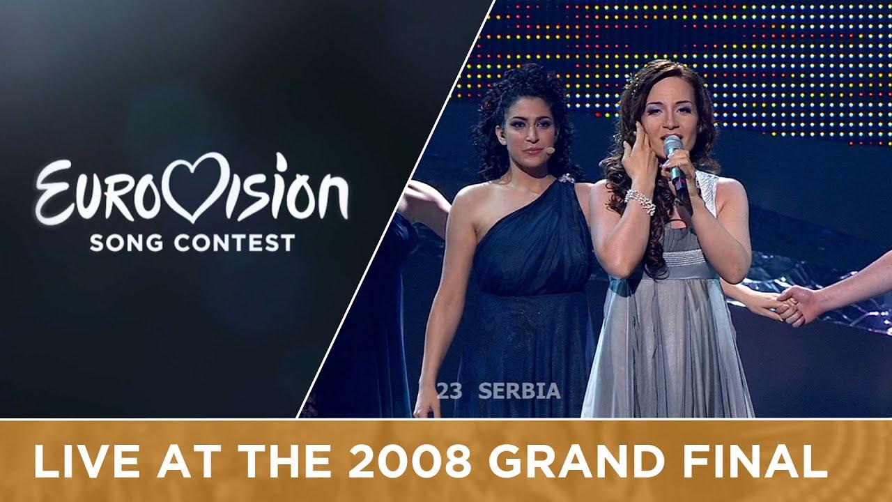 Jelena Tomašević feat. Bora Dugic - Oro (Serbia) Live 2008 Eurovision Song Contest