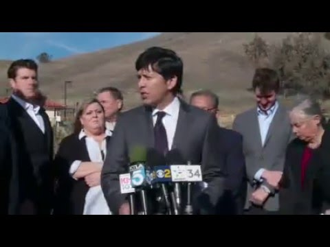 Announcement of Senate Legislative Bill Package on Aliso Canyon Gas Leak