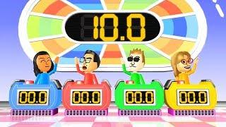 Wii Party Funny Minigames - Guest D vs Shouta vs Steve vs Ashley