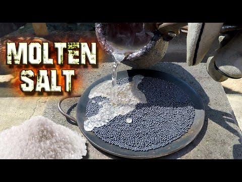 Will Molten Salt Melt Lead?