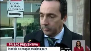 Pereira Cristovão e dirigente da Juve Leo em prisão preventiva