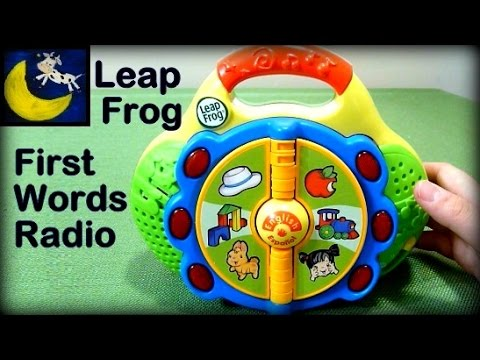 LeapFrog Learn & Groove First Words Radio (2 Yr Old's FAVORITE Toy)