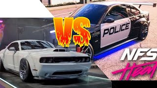 Need For Speed Heat - Police vs Dodge Charllenger