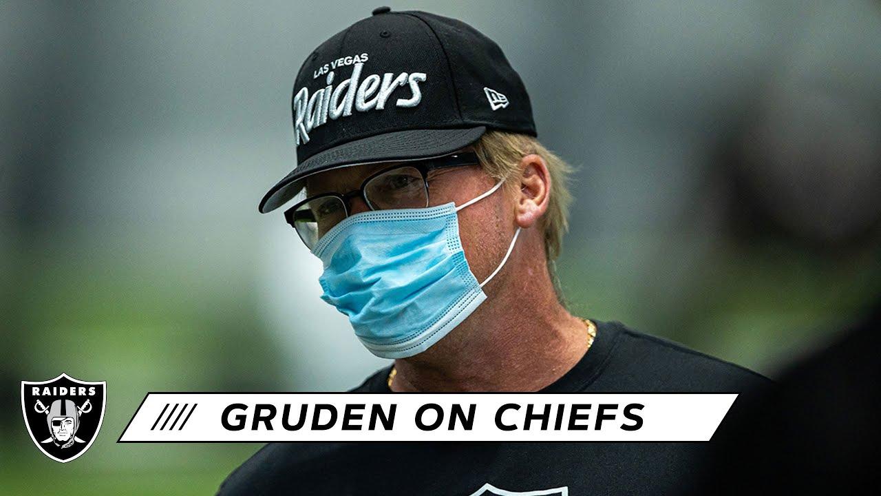 Coach Gruden Details Positives-Negatives Through First 4 Games & Previews Chiefs   Las Vegas Rai