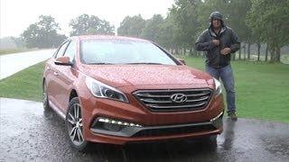 FIRST DRIVE 2015 Hyundai Sonata