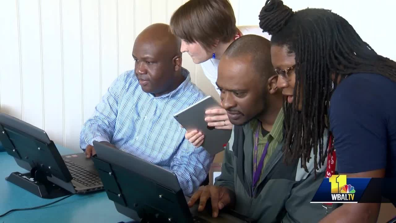 Baltimore, Maryland-Access To Computers For Black People