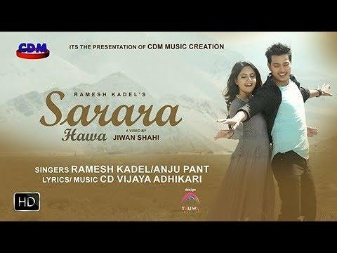 Sarara Haawaa - Ramesh Kadel & Anju Panta Ft. Barsha Siwakoti & Pushpal Khadka | New Nepali Pop Song