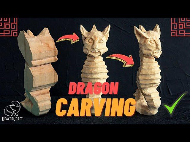 Dragon Wood Carving Tutorial - Part 2