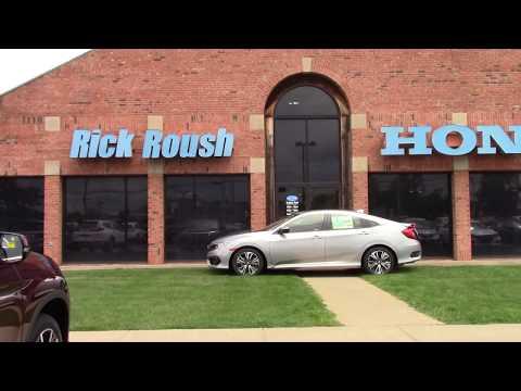 2018 Honda Civic EX L Sedan   New Car For Sale   Medina, Ohio. Rick Roush  Honda