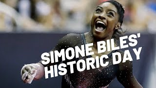 Simone Biles Triple Double Simone Biles Breaking Records in Gymnastics | Christian Motivation 2019
