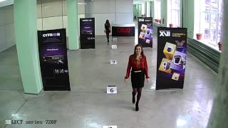 Тестовая видеозапись IP-камер XVI серии Select 1Mп 720p