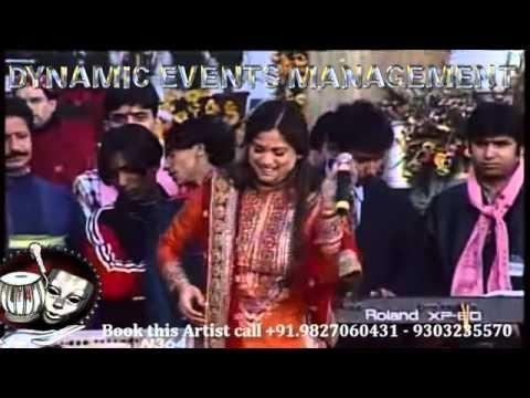 Sufi Bhajan Singer Richa Sharma Live Performance in Mata Ka Jagrata Bhajan Sandhya