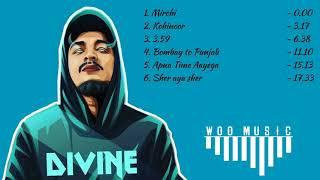 Divine - non stop hit songs   Gully Gang  Divine new hindi Rap song   Nonstop Rap songs   Jukebox GG