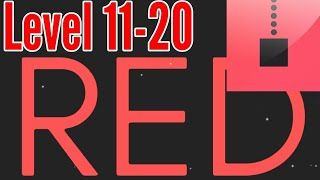 red Level 11 12 13 14 15  Bart Bonte Game Android iOS