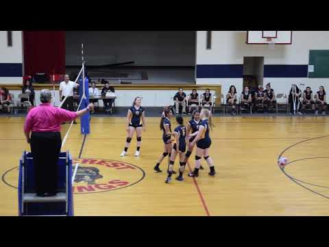 Volleyball 8th Grade Eastwood Lady Raiders vs Bel Air Warriors (2017)