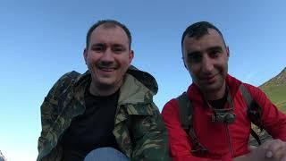 trekking Pindos mountains to Drakolimni lake, Zagorokhoria, Greece