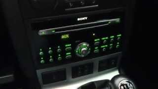 Where to find the iPod/iPhone Aux jack on a Ford Mondeo ST