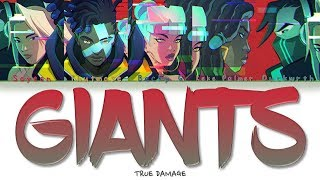 True Damage - GIANTS (HAN | ROM | ENG Lyrics)