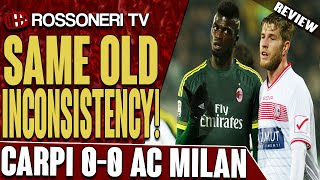 Video Gol Pertandingan Carpi vs AC Milan