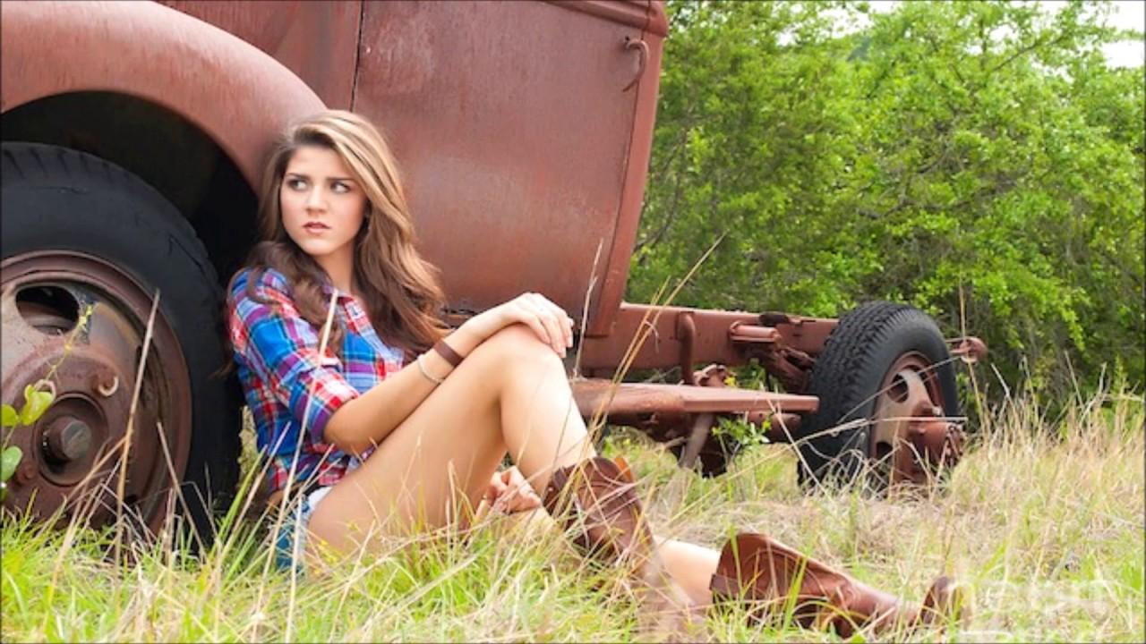 Teen farm girl