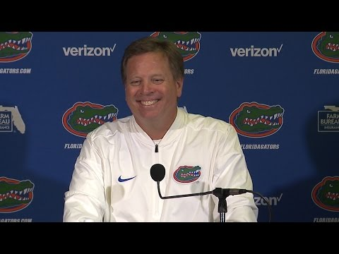 Orange & Blue Debut Postgame Press Conference | Football