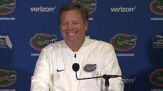 Florida Football: Jim McElwain Postgame Press Conference 4-7-17 thumbnail