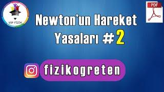 Newtonun Hareket Yasaları -2  PDF  AYT Fizik