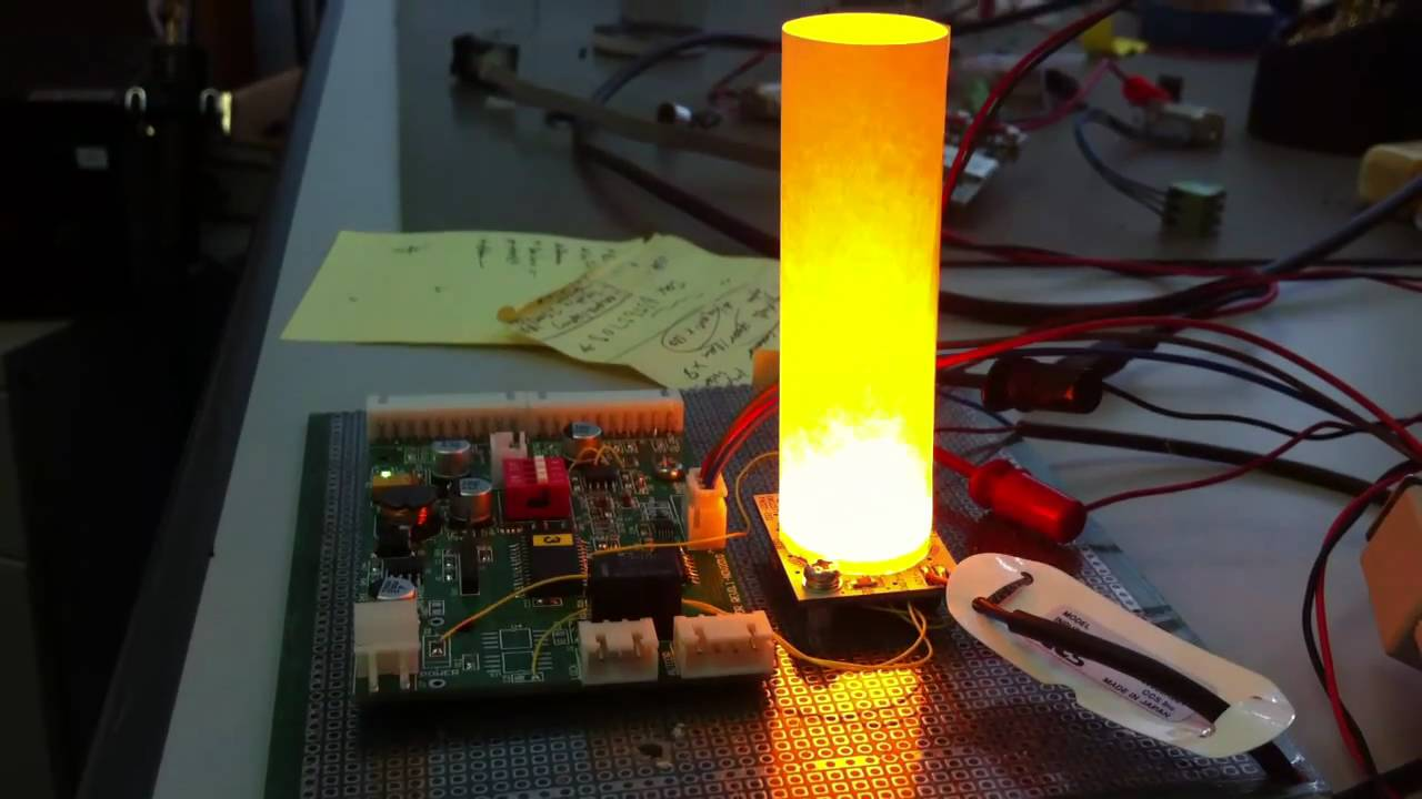 Realistic Led Candle Youtube Flickering Flamewax Candleled Electronic Circuit